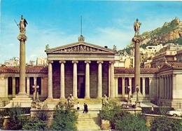 GRECE AIR MAIL   POST CARD  1968 ATHHENS THE ACADEMY   (FEB20792) - Grecia