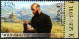 "Artsakh 2019 ""150th Anniversary Of The Composer Komitas."" 1v  Quality:100% - Arménie"