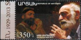 "Artsakh 2019 ""90th Anniversary Of Sos Sargsyan (1829-1913). Actor."" 1v  Quality:100% - Arménie"