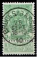 83  Obl  Concours Bruges (Bassin)  + 8 - 1893-1907 Wappen