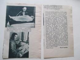 Pantin Et Poupée Automatique  M. DECAMPS Pour Vitrine Grand Magasin  - Ancienne Coupure De Presse - Showcases
