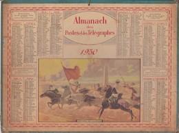 Calendrier 1930 ALMANACH Des Postes Et DesTélégraphes / FANTASIA DES GOUMIERS - Grand Format : 1921-40