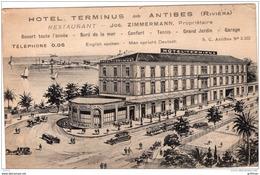 ANTIBES HOTEL TERMINUS RESTAURANT JOS ZIMMERMANN PROPRIETAIRE TBE - Antibes