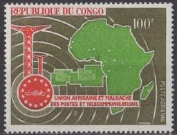 CONGO - Union Africaine Et Malgache Des Postes Et Télécommunications 1967 - Ungebraucht
