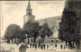 Cp Bodegraven Südholland, Kerkplein En Hervormde Kerk - Non Classés