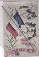 Souvenir De Sainte Ménéhould (51) Notre Beau Drapeau Français Et Multivue - Sainte-Menehould