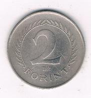 2 FORINT 1957   HONGARIJE /1168/ - Hongrie