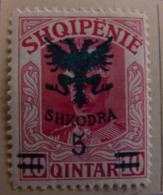 Albanie 1920 Y&T N° 99 - 5 Q.s.10 P. Rose - Neuf * - Albania