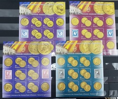 F1022 2013 ROMANIA CULTURE MONEY COINS OF NATIONAL BANK !!! MICHEL 85 EURO !!! 4KB MNH - Monete