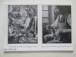 MIRECOURT (LUTHERIE Violon)   - Luthier Et Opération De Vernissage - Coupure De Presse De 1936 - Instrumentos De Música
