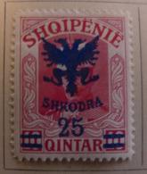 Albanie 1920 Y&T N° 103 - 25 Q. S. 10 Q. Rose - Neuf ** - Albania