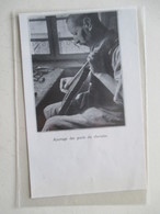 MIRECOURT (LUTHERIE Violon)   - Luthier Et Opération D Ajustage De Chevalet - Coupure De Presse De 1936 - Strumenti Musicali