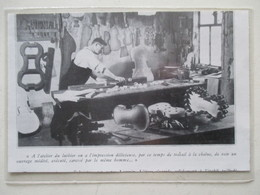 MIRECOURT (LUTHERIE Violon)   - Luthier Et Son Atelier  - Coupure De Presse De 1936 - Instruments De Musique