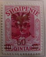 Albanie 1920 Y&T N° 105 - 50 Q. S. 10 Q. Rose - Neuf * - Albania