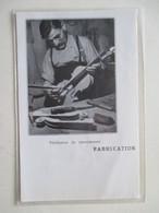 MIRECOURT (LUTHERIE Violon)   - Luthier Et Verification Du Renversement  - Coupure De Presse De 1936 - Instruments De Musique