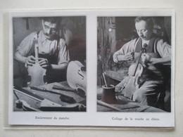 MIRECOURT (LUTHERIE Violon)   - Luthier Et  Collage De Touche  - Coupure De Presse De 1936 - Strumenti Musicali