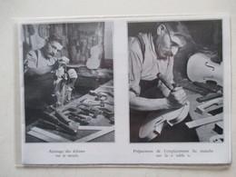 MIRECOURT (LUTHERIE Violon)   - Luthier Et  Ajustage - Coupure De Presse De 1936 - Strumenti Musicali