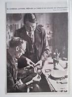 MIRECOURT (LUTHERIE Violon) - Le Maitre  Luthier M CARESSA Et Un Violon Stradivarius  - Coupure De Presse De 1936 - Instrumentos De Música