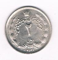 2 RIAL 2534  AH IRAN /1180/ - Iran