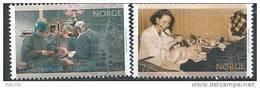 Norvège 2003 N°1410/1411 Neufs** Service Public De Santé - Norvège