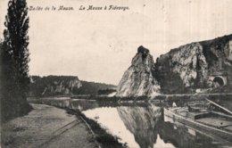 CPA   BELGIQUE---VALLEE DE LA MEUSE---LA MEUSE A FIDEVOYE---1909 - België