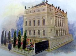 CPA TUCK OILETTE LA MAISON DE POUPEE DE LA REINE JARDIN .   THE QUEEN'S DOLLS' HOUSE COMPLETE MODEL & GARDEN - Jeux Et Jouets