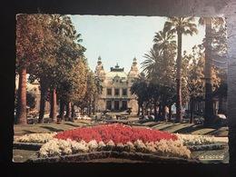 Montecarlo. El Casino Y Sus Jardines. - Monte-Carlo