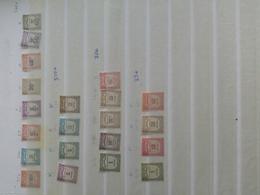 Ancien Timbres Taxes Français Neuf Grosse Cote - Postzegels