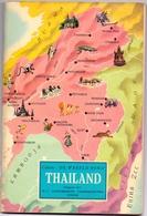 Boek - Aardrijkskunde - Thailand - Uitg. Vandemoortele Izegem - 1962 - Géographie