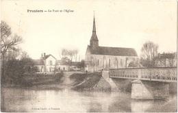 Dépt 41 - PRUNIERS-EN-SOLOGNE - Le Pont Et L'Église - (Édition Cholet, à Pruniers) - Andere Gemeenten