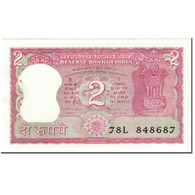 Billet, Inde, 2 Rupees, 1985, Undated (1985), KM:53Aa, TTB - Inde
