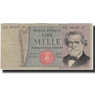 Billet, Italie, 1000 Lire, KM:101e, TTB - [ 2] 1946-… : République