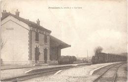 Dépt 41 - PRUNIERS-EN-SOLOGNE - La Gare - (arrivée D'un Train) - Édit. Baquet - Other Municipalities