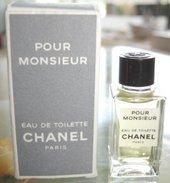 POUR MONSIEUR - EDT 4 ML De CHANEL - Miniatures Modernes (à Partir De 1961)