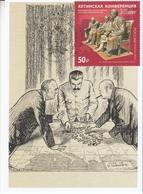 2822 Mih 2600 Russia 02 2020 Maximum Card 9 1945 Yalta Conference Stalin Roosevelt Churchill WW II World War II - Sir Winston Churchill