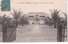 COTE D IVOIRE(GRAND LAHOU) FACTORERIE(ARBRE) - Côte-d'Ivoire