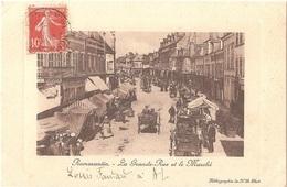 Dépt 41 - ROMORANTIN-LANTHENAY - La Grande-Rue Et Le Marché - (charcutier HENNEQUET) - Héliographie ND Phot. - (FANDARD) - Romorantin