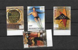 Olympische Spelen 2004 , Togo -  Zegels  Postfris - Summer 2004: Athens