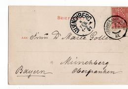 Den Haag Gouda IX Grootrond - 1901 - Marcophilie