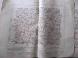 Carte  CAMBRAI - Tirage De 1920 - SERVICE VICINAL - MINISTERE DE L'INTERIEUR - Format : 58 X 46 Cm - Cartes Topographiques