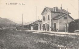 Rare Cpa Le Thillot La Gare - Le Thillot