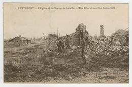 62 - Festubert - L'Eglise Et Le Champ De Bataille - France