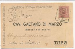 1900 BEFFI AQUILA QUADRATO  DI COLLETTORIA RURALE - 1878-00 Humbert I