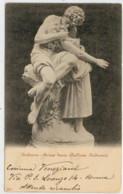 C.P.  PICCOLA       ANDREANI    PRIMO  BACIO    GALLERIA   ANDREANI  VIAGGIATA X IL BRASILE          2 SCAN  (VIAGGIATA) - Sculture