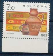 [65339]TB//**/Mnh-N° 43, Artisanat Moldave, Tissage Et Poteries - Moldavie