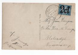 Brouwershaven Kortebalk - 1924 - Postal History