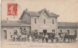 ***   ALGERIE  ***  SIDI BEL ABBES  La Gare - TB - Sidi-bel-Abbès