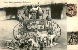 DAHOMEY - Carte Postale - Kings Fetish Ornaments - Ornements De Fétiche Des Rois - L 53213 - Dahomey