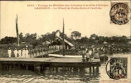 DAHOMEY - Carte Postale - Visite Du Ministre Des Colonies à Porto Novo - L 53214 - Dahomey