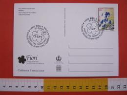 A.14 ITALIA ANNULLO 2004 BIELLA ARTE 5 SECOLI PITTURA FLOREALE MUSEO TERRITORIO FIORE FIORI FLOWERS ART CARD ANDY WARHOL - Arte